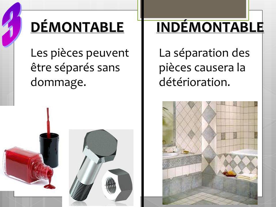 DÉMONTABLE INDÉMONTABLE 3