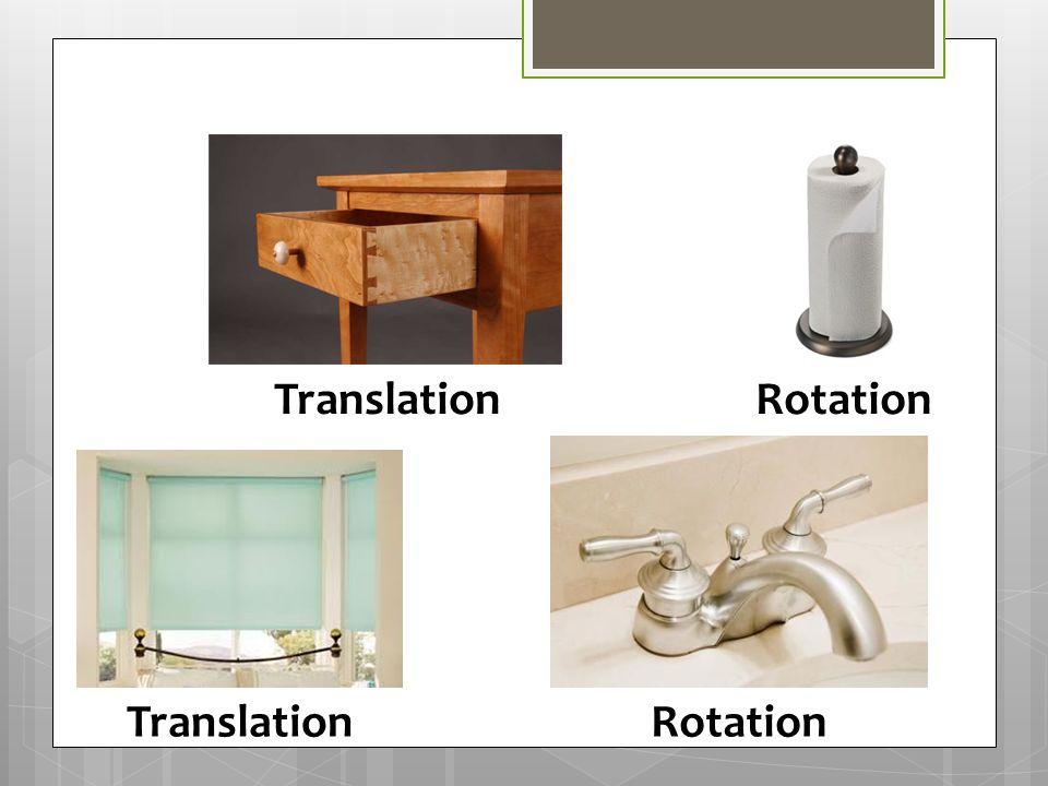Translation Rotation Translation Rotation