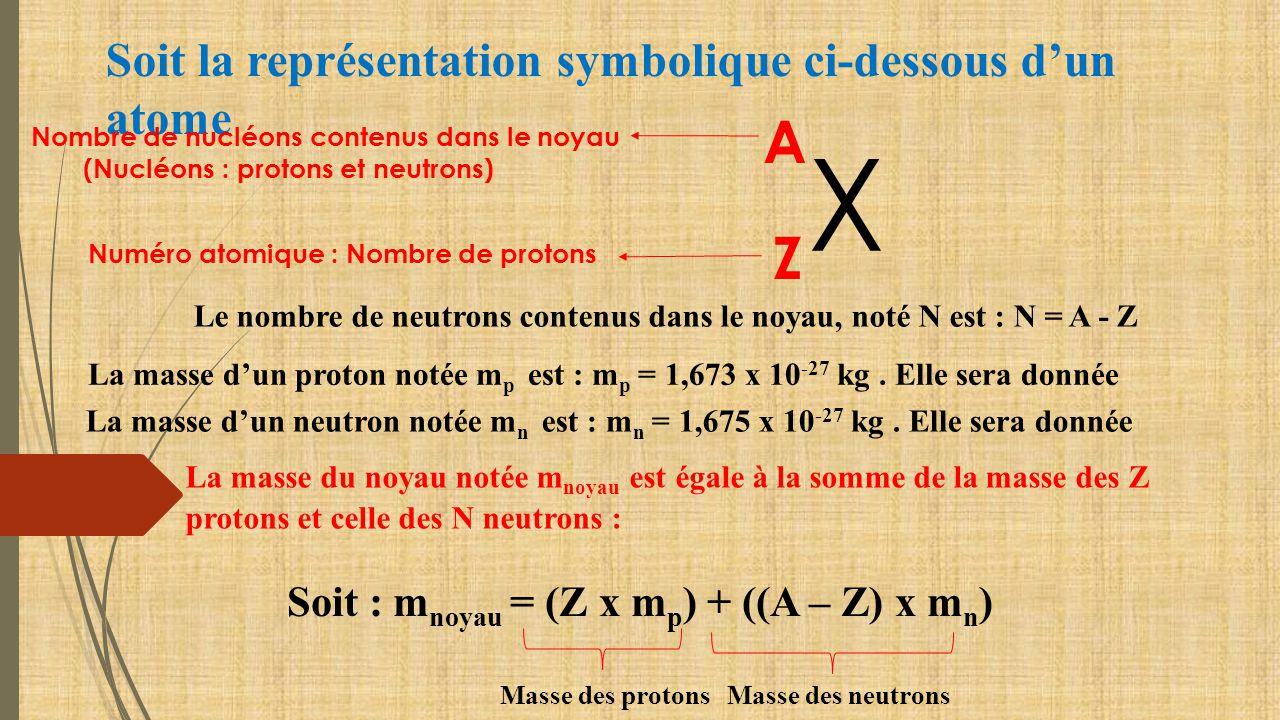 Calcul de la masse du noyau d un atome ppt video online t l charger - Calcul nombre de parpaing ...