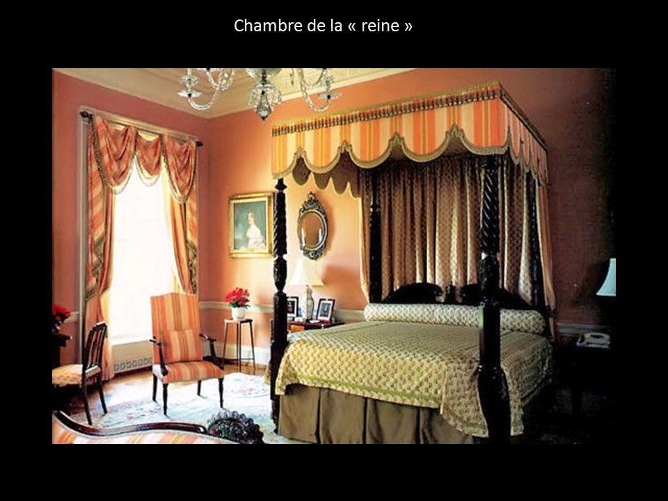 Visite de la maison blanche ppt t l charger for Chambre de la reine