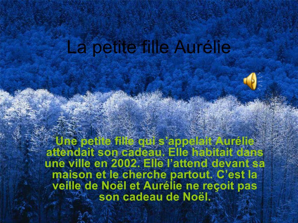 La petite fille Aurélie