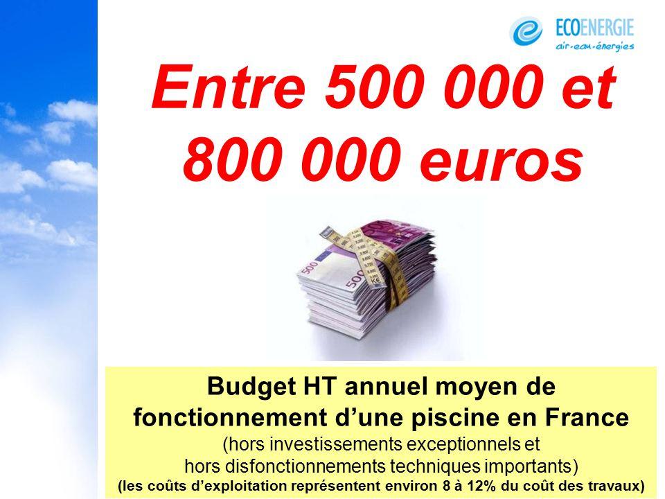 Budget HT Annuel Moyen De Fonctionnement Du0027une Piscine En France