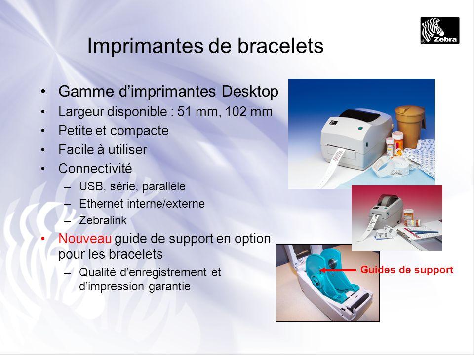 Imprimantes de bracelets