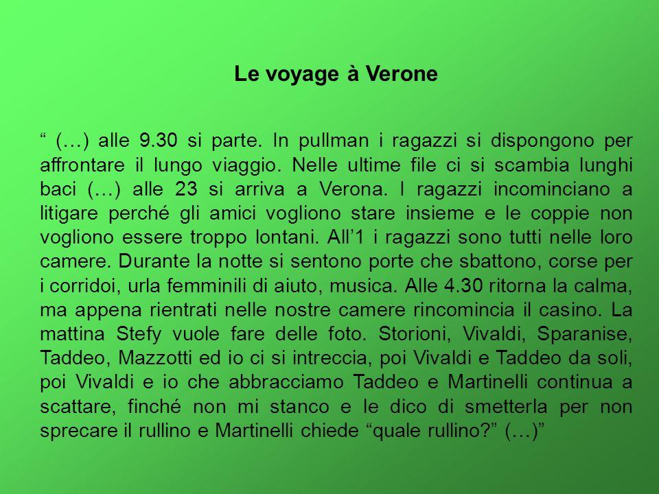 Le voyage à Verone