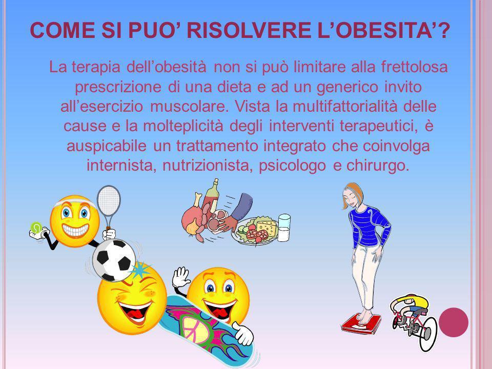COME SI PUO' RISOLVERE L'OBESITA'