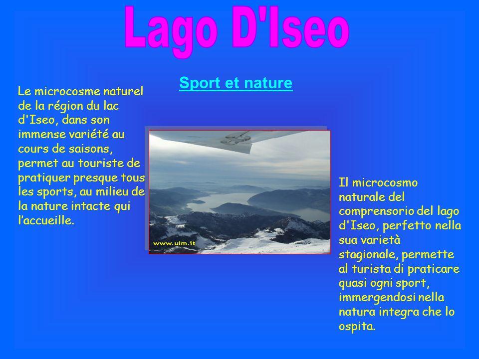 Lago D Iseo Sport et nature