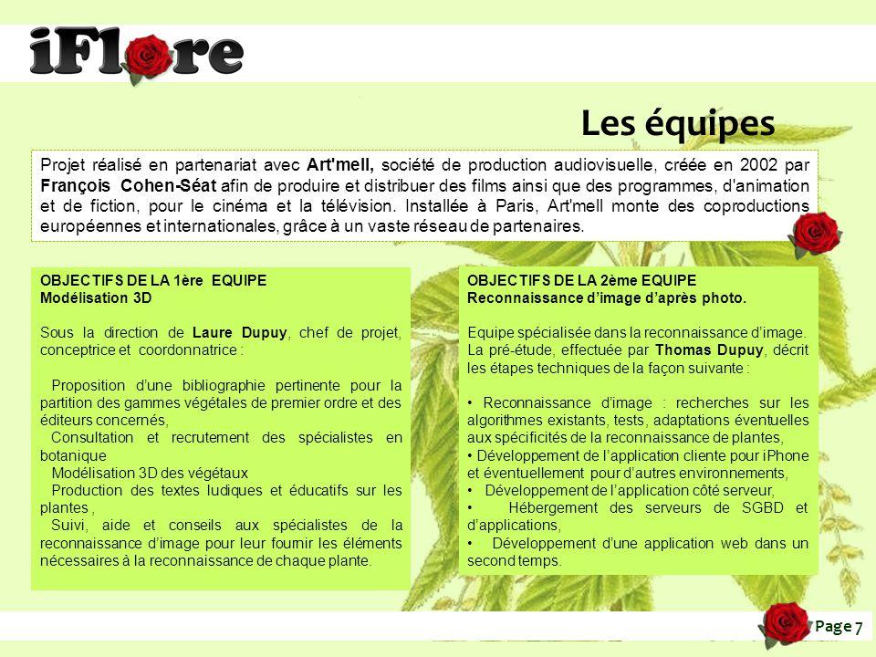 application ipgone pour entreien plante