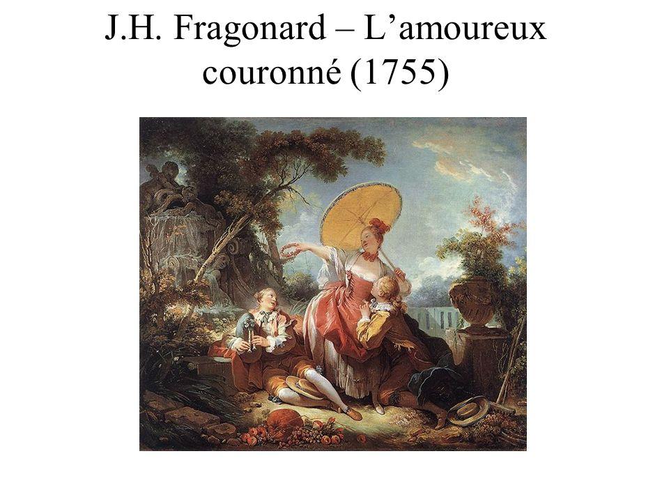 J.H. Fragonard – L'amoureux couronné (1755)