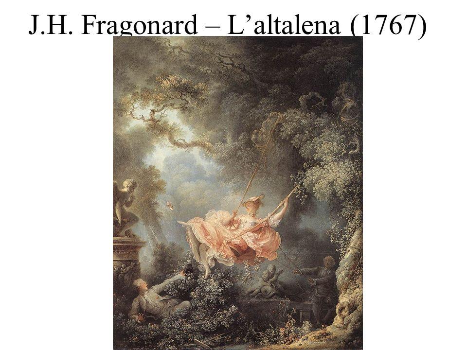 J.H. Fragonard – L'altalena (1767)