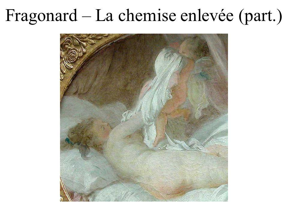 Fragonard – La chemise enlevée (part.)