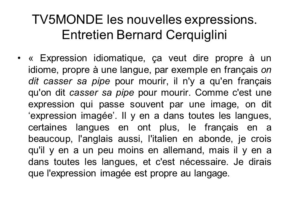 Langue traduction et culture modalit d esame ppt for Casser un miroir signification