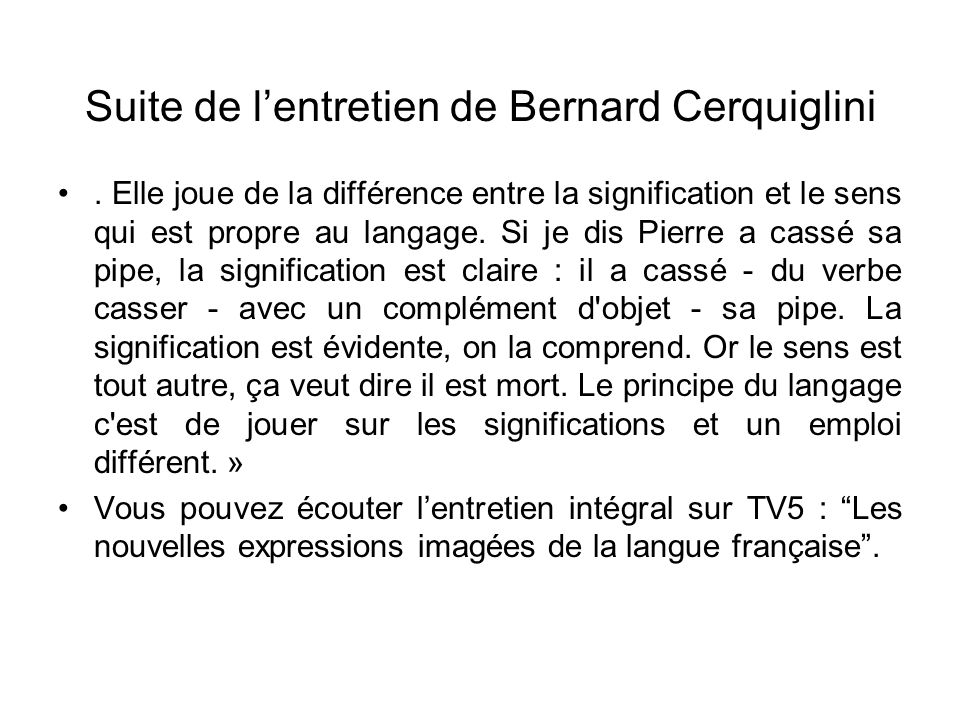 Langue traduction et culture modalit d esame ppt for Casser un miroir signification