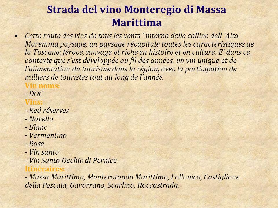 Strada del vino Monteregio di Massa Marittima