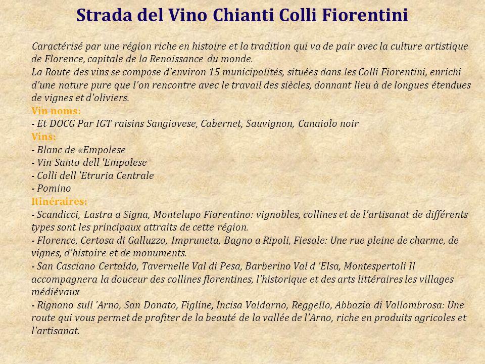 Strada del Vino Chianti Colli Fiorentini