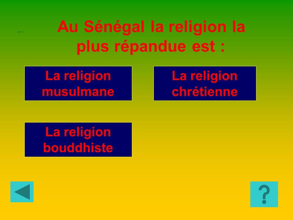 La religion chrétienne La religion bouddhiste