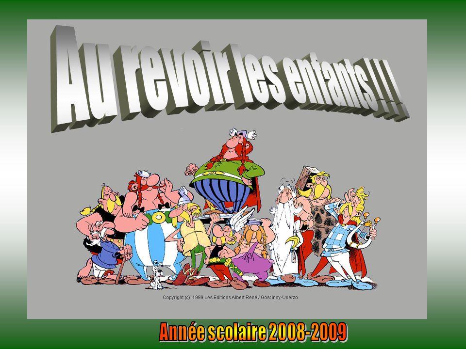 Pagina finale Au revoir les enfants ! ! ! Année scolaire 2008-2009