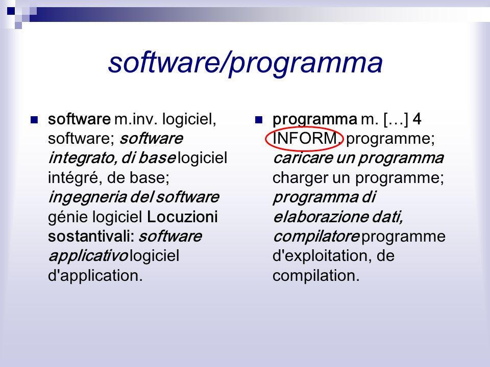software/programma