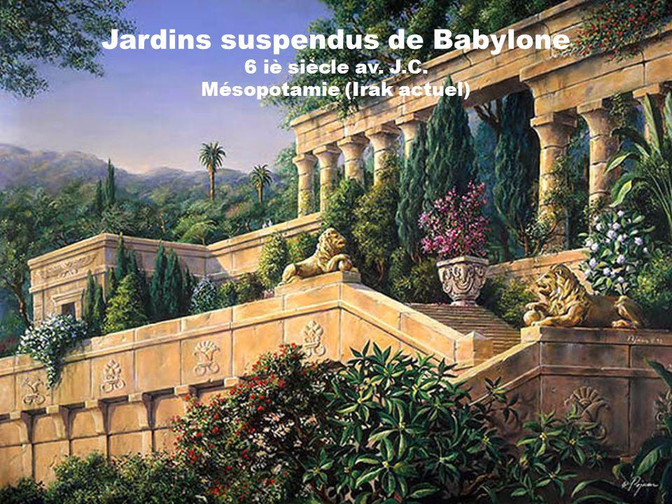 Du monde antique au monde moderne ppt t l charger for Jardin suspendu babylone
