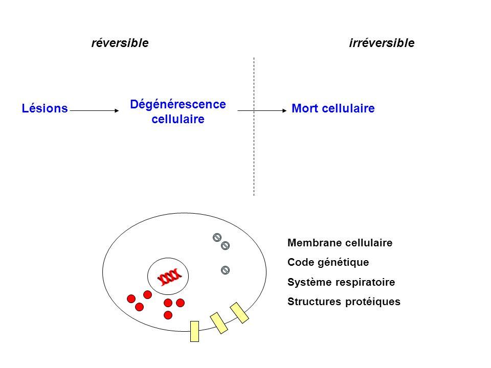 Dégénérescence cellulaire