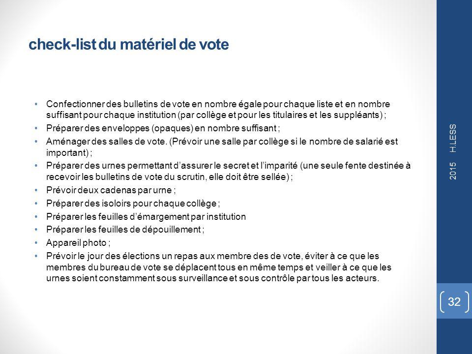 Election des d l gu s du personnel ppt t l charger - Assesseur titulaire bureau de vote ...