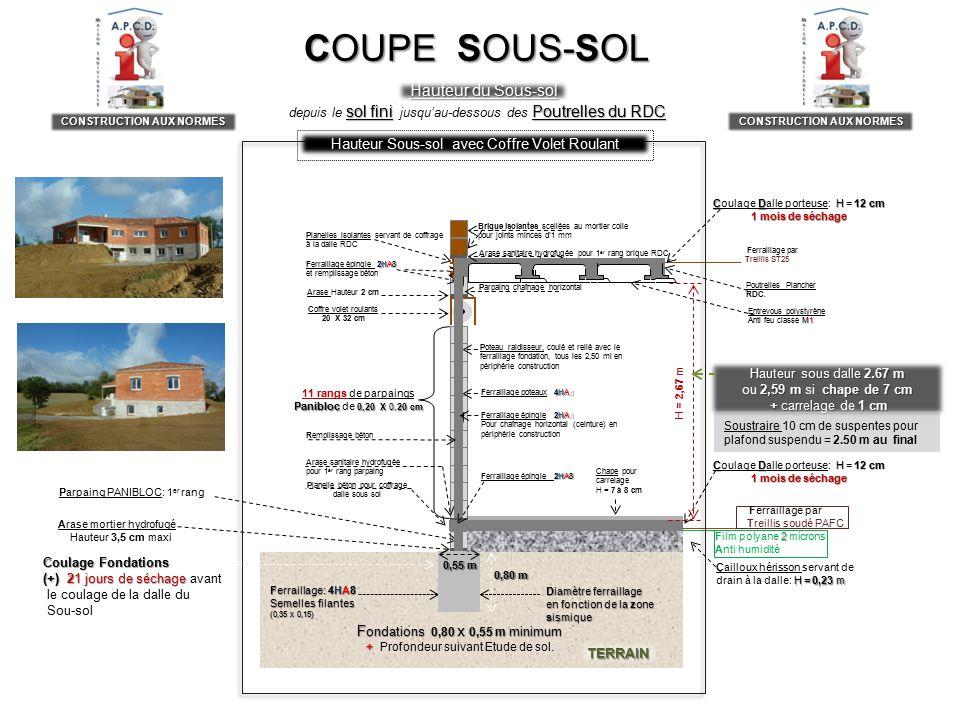 Realisation DUn SousSol Aux Normes De Solidite Et DEtancheite