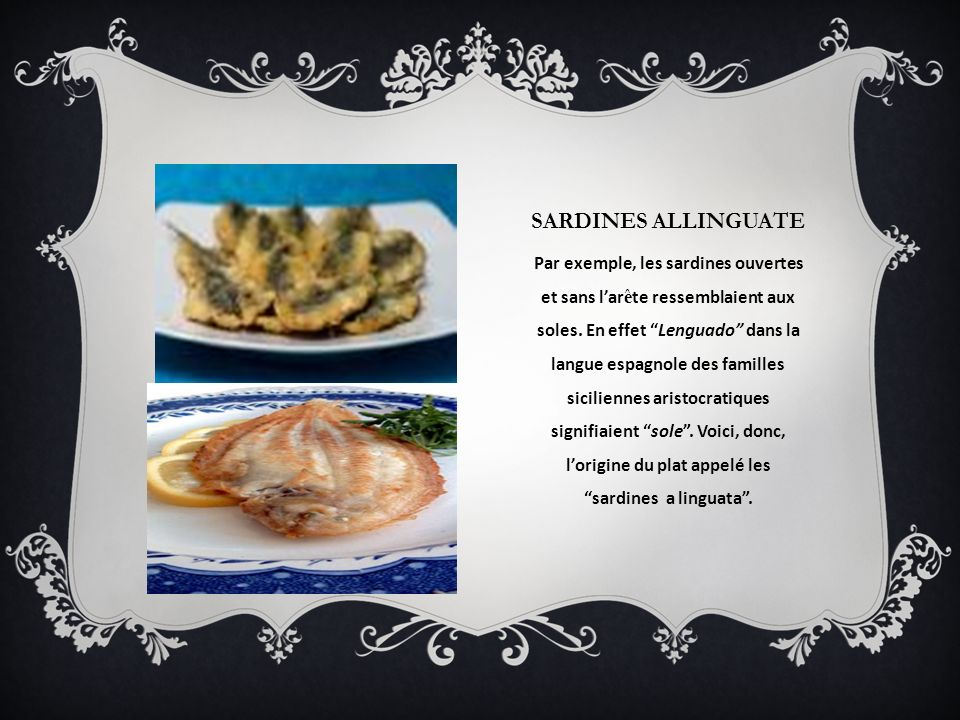 Sardines allinguate