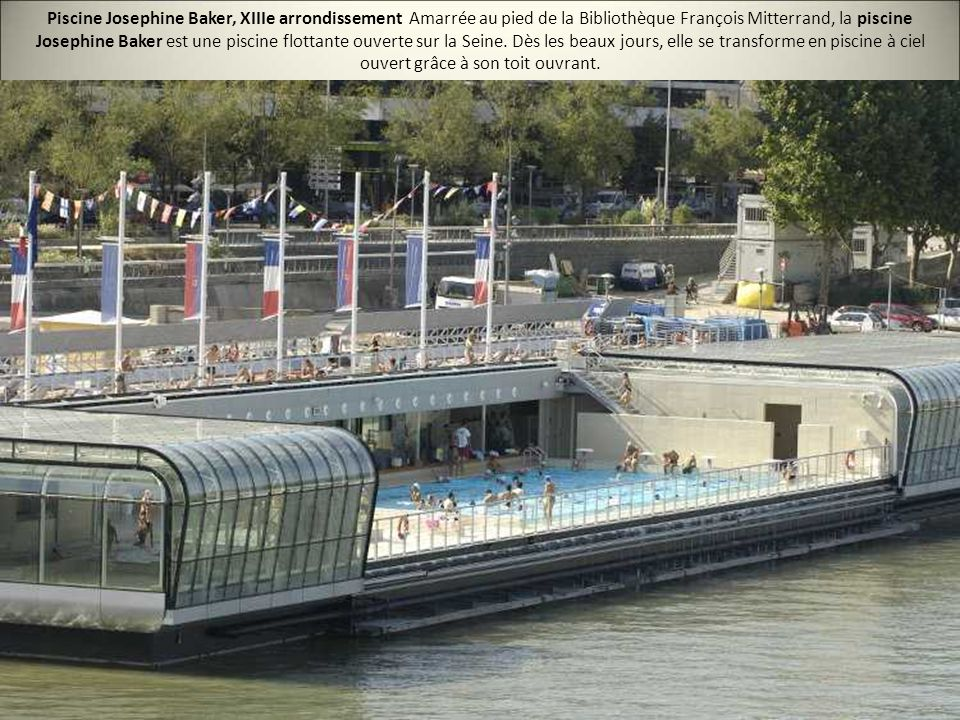 Les 20 plus belles piscines de paris ppt video online for Piscine ouverte