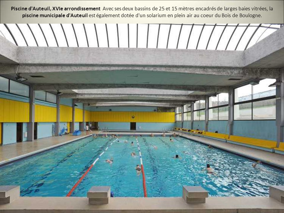 Les 20 plus belles piscines de paris ppt video online for Boulogne billancourt piscine municipale