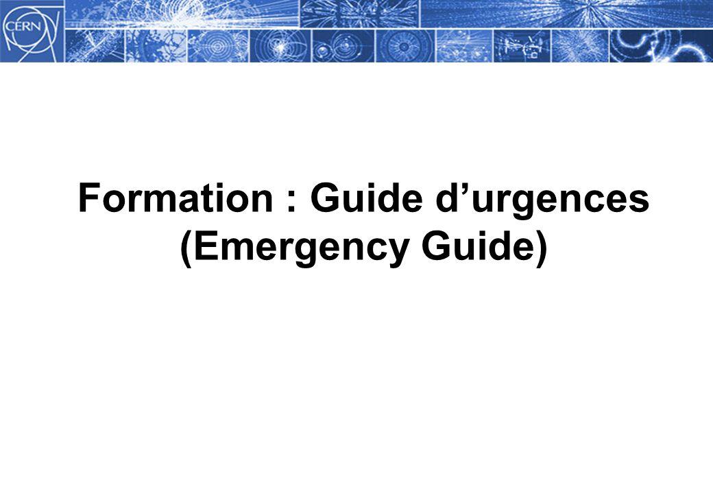 guide de gestion de l urgence