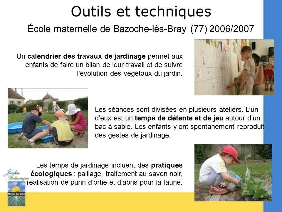 L accueil du public maternel ppt t l charger for Les techniques de jardinage