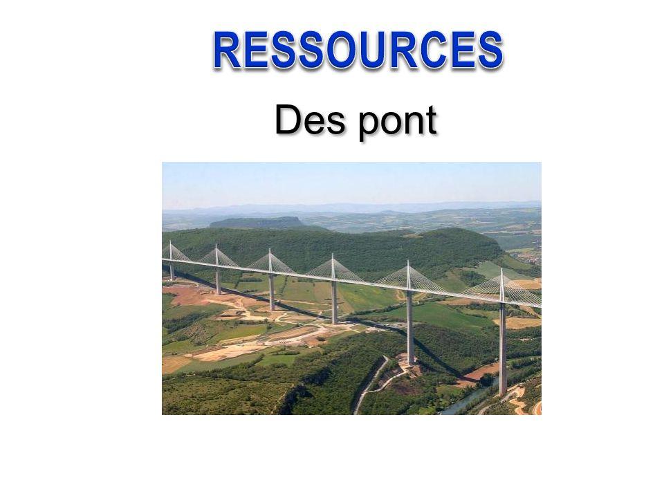 RESSOURCES Des pont
