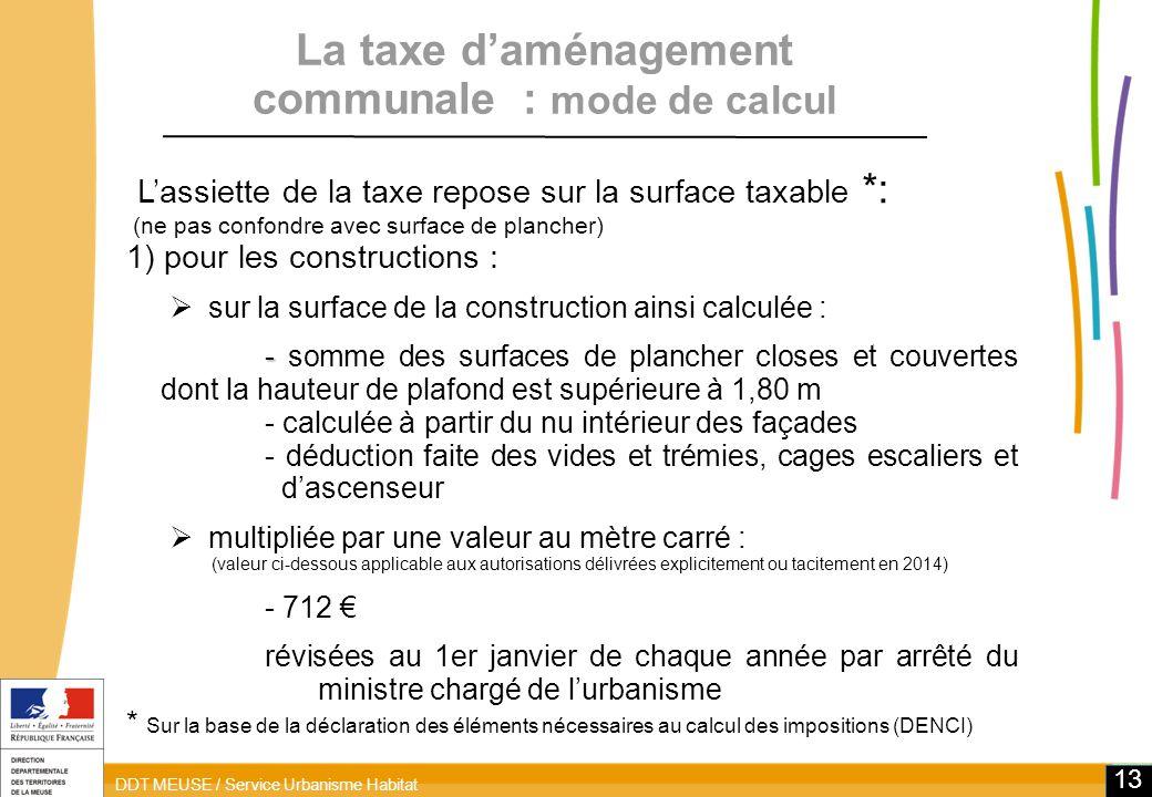 Simulateur taxe d amnagement interesting simulateur taxe d amnagement with simulateur taxe d - Simulateur de calcul surface de plancher ...