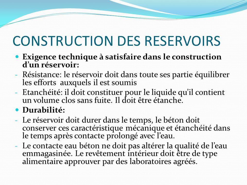 Reservoirs d eau r les ppt video online t l charger for Le beton cire est il etanche