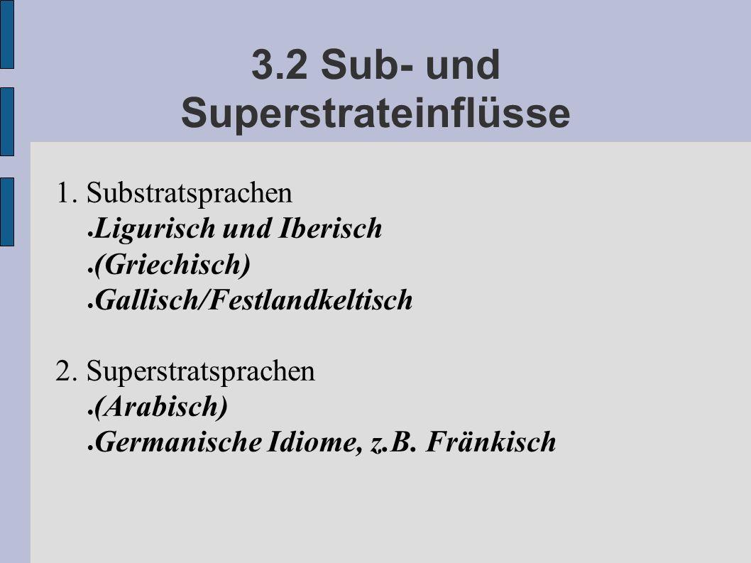 3.2 Sub- und Superstrateinflüsse