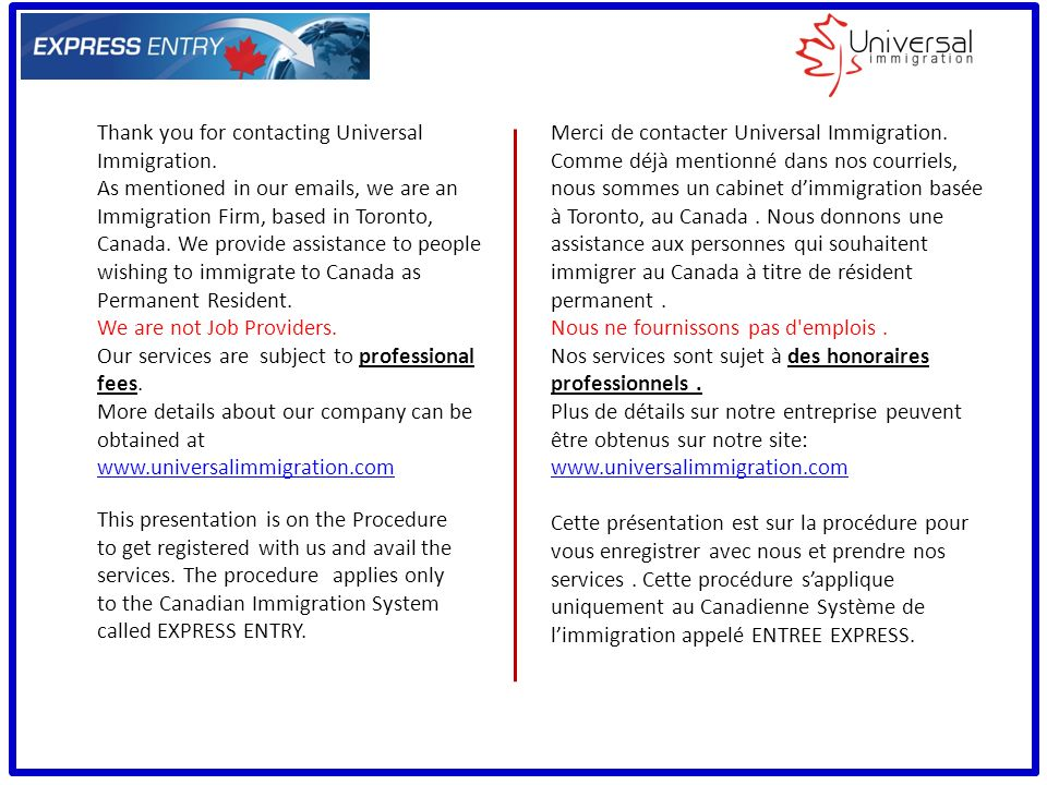 permanent resident application canada fees