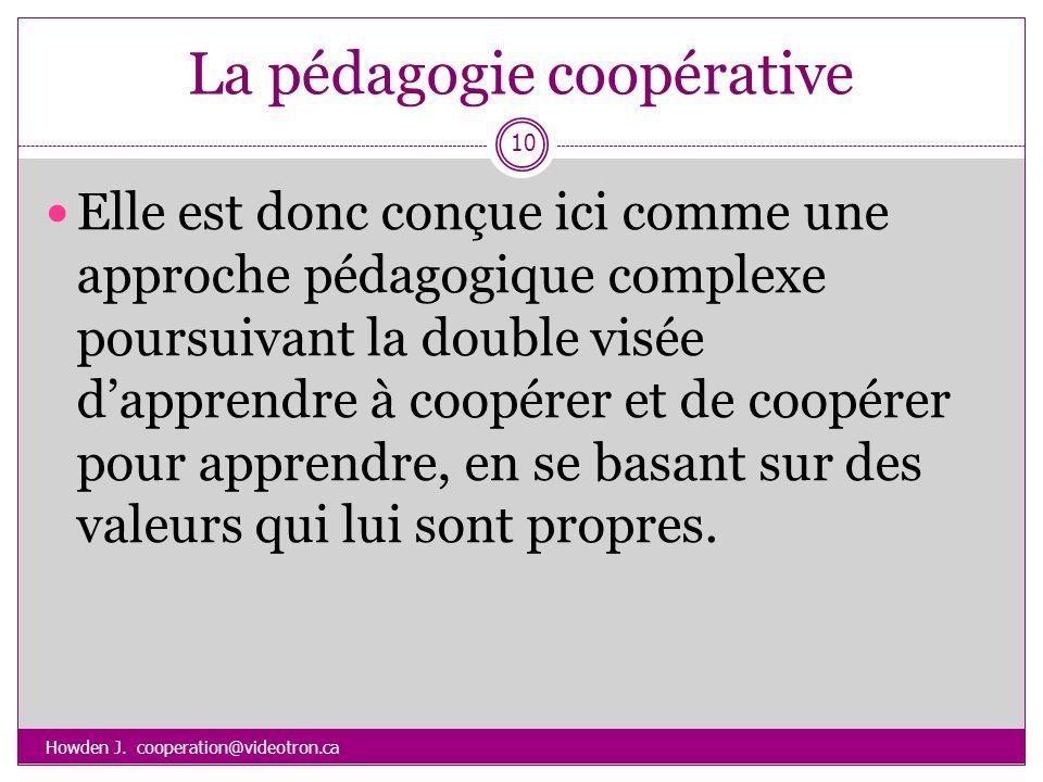 La pédagogie coopérative