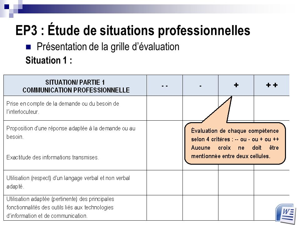 Cap op rateur trice logistique ppt video online t l charger - Grille d evaluation des competences professionnelles ...