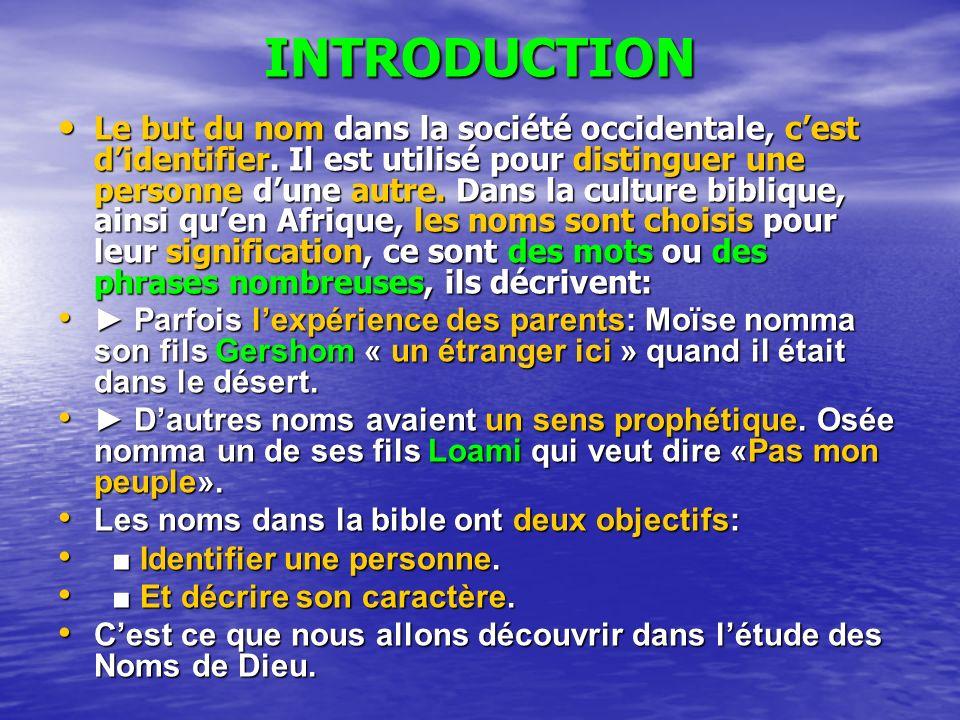 Les noms de dieu dans la bible ppt video online t l charger - Un mot qui se lit dans les deux sens ...