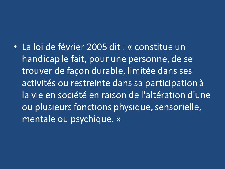 Top La politique en direction des personnes handicapées - ppt video  CL22