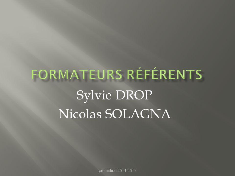 Sylvie DROP Nicolas SOLAGNA