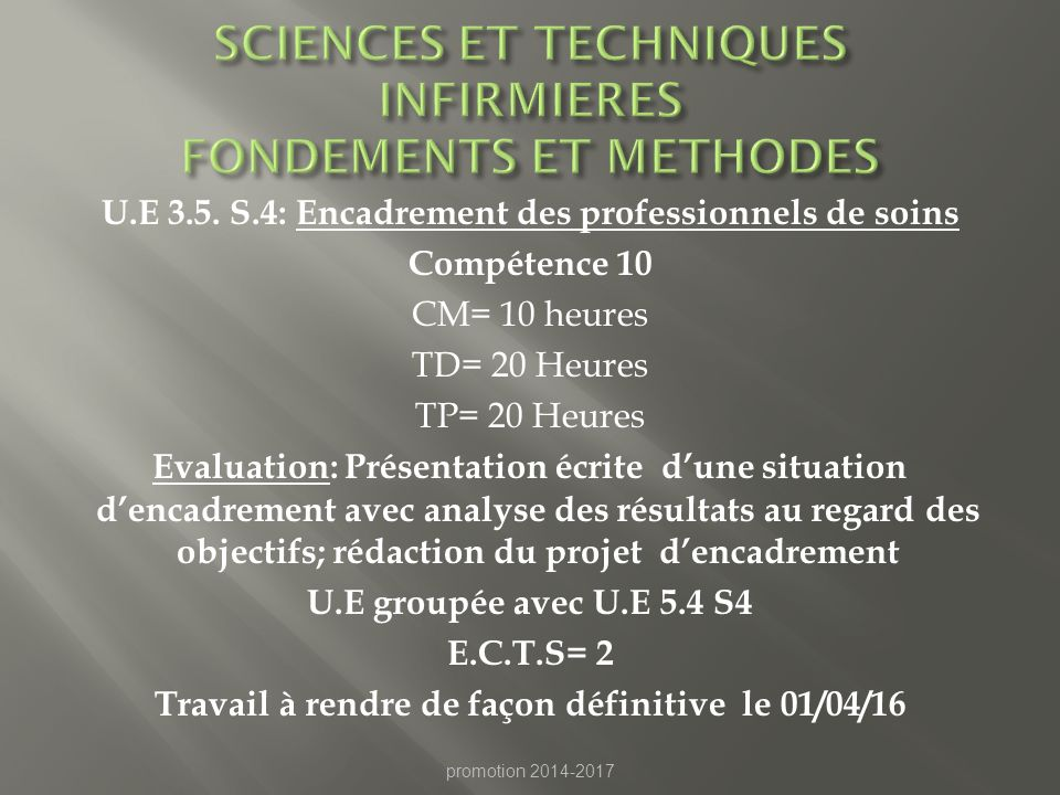 SCIENCES ET TECHNIQUES INFIRMIERES FONDEMENTS ET METHODES