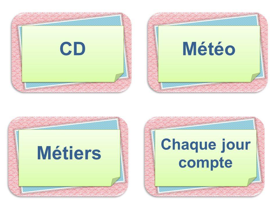 CD Météo Métiers Chaque jour compte