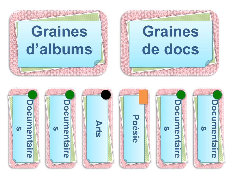 Graines d'albums Graines de docs