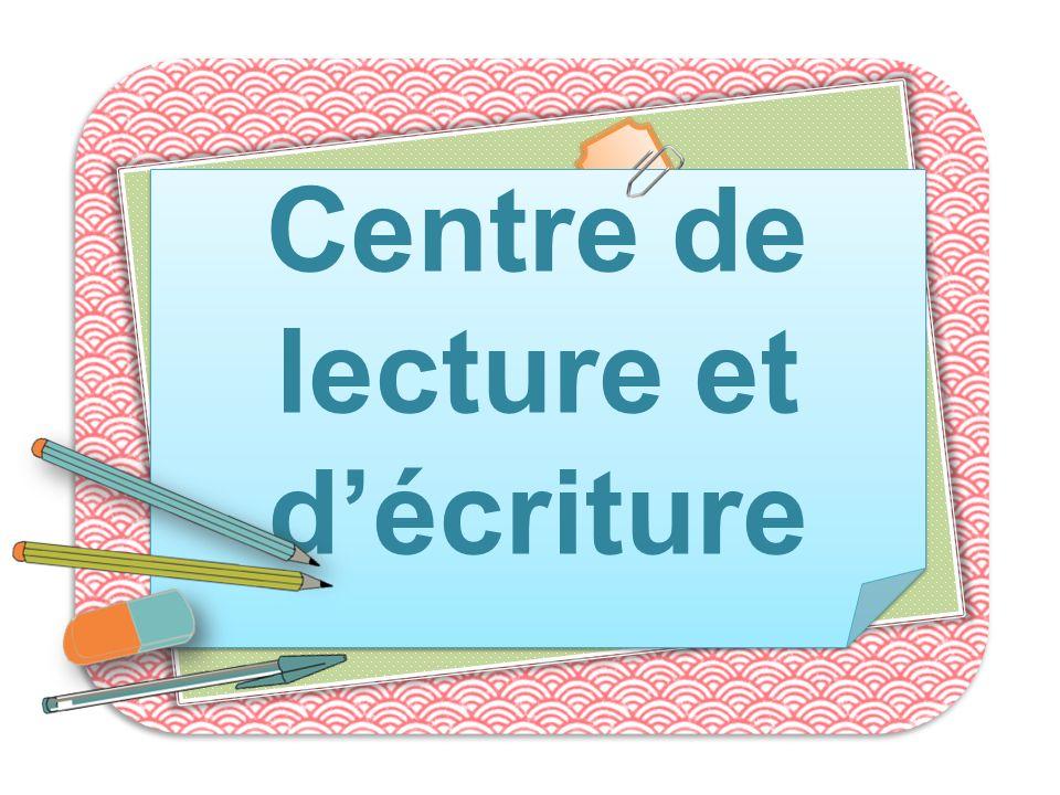 Centre de lecture et d'écriture