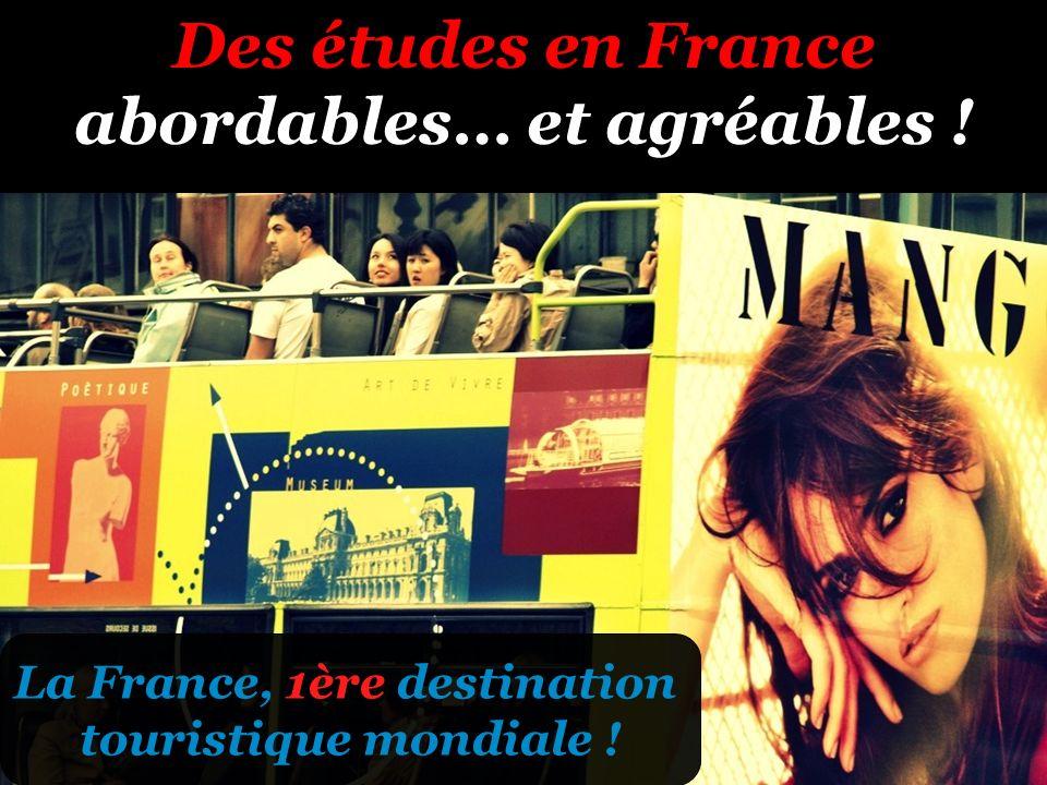 Des études en France abordables… et agréables !