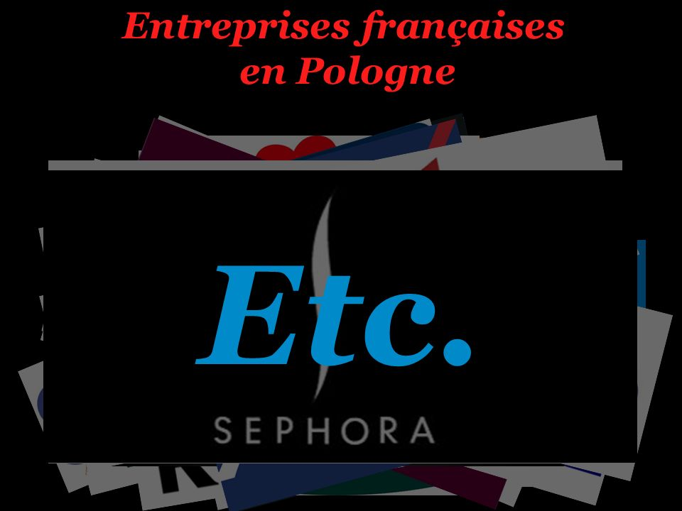 Entreprises françaises en Pologne