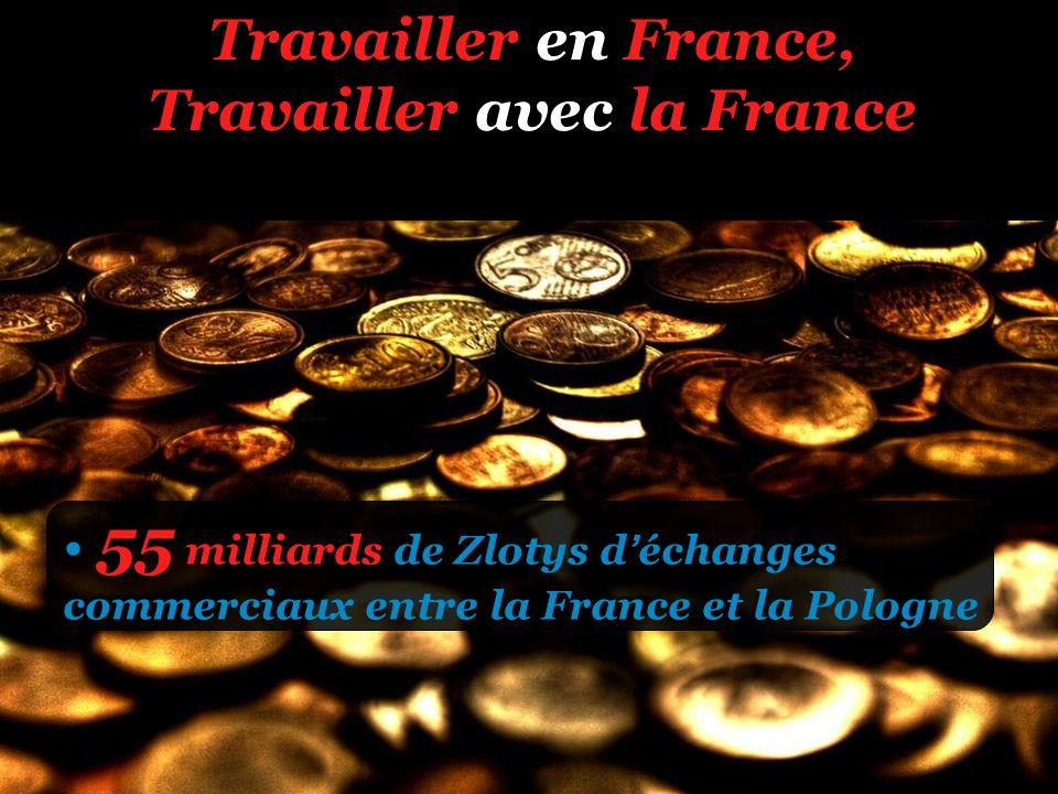 Travailler en France, Travailler avec la France