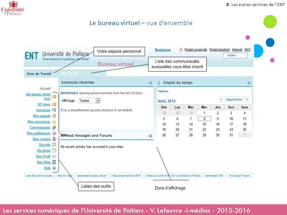 Les services numriques de luniversit de Poitiers ppt tlcharger
