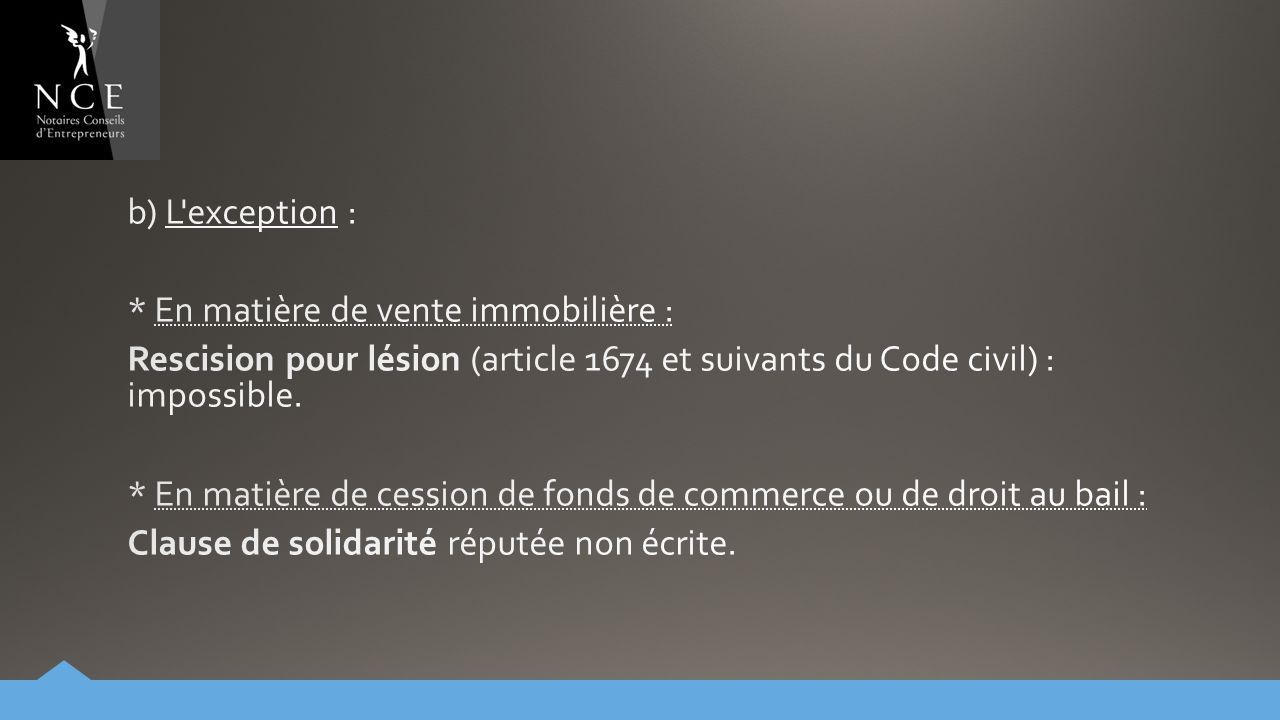 Le notaire et les proc dures collectives 2 me partie la vente d actifs sur autorisation du - Article 640 du code civil ...