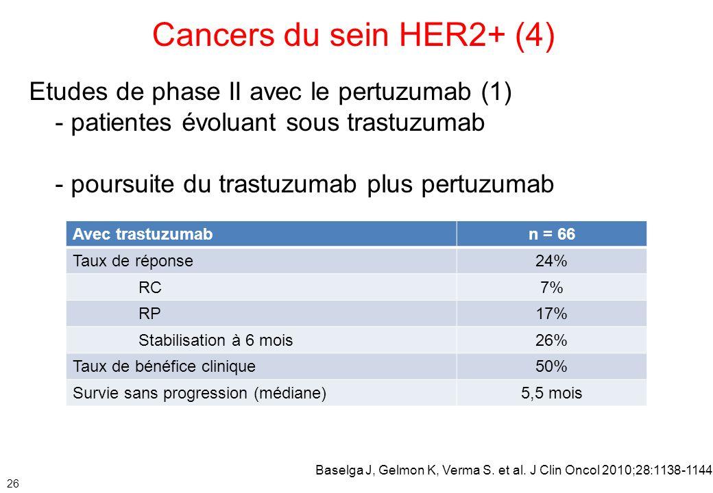 Le cancer du sein pr her2s